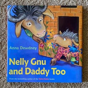 Nelly Gnu and Daddy Too hardcover book- New
